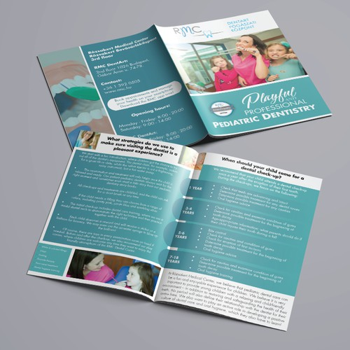 Brochure Design for Pediatric Dental