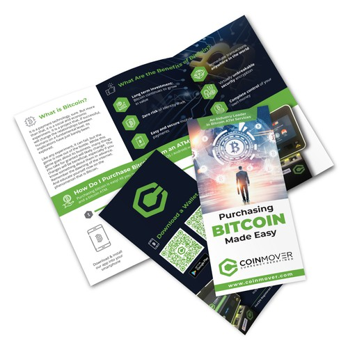 Trifold Brochure for Coinmover