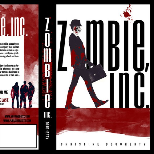 Zombie Book cover for Christine Dougherty
