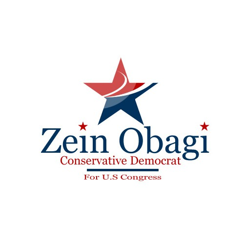 Zein Obagi  Conservative Democrat for Congress needs a new logo
