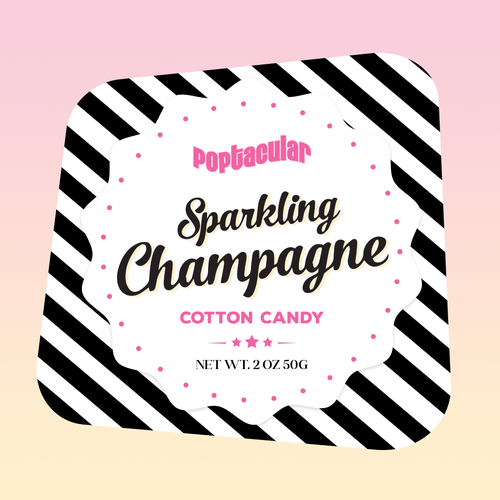 Label for Cotton Candy box