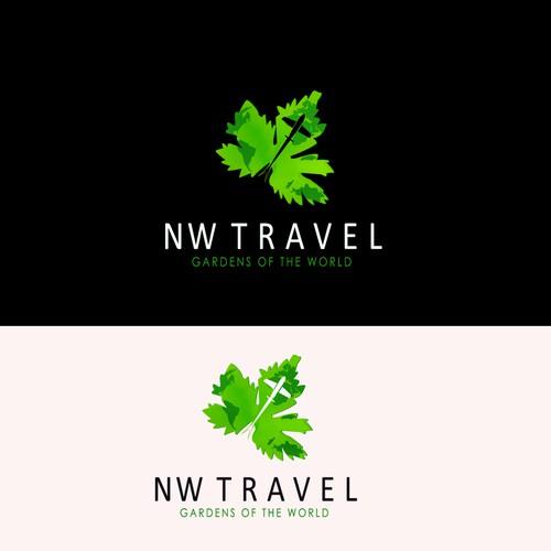 logo pour un agence de voyage