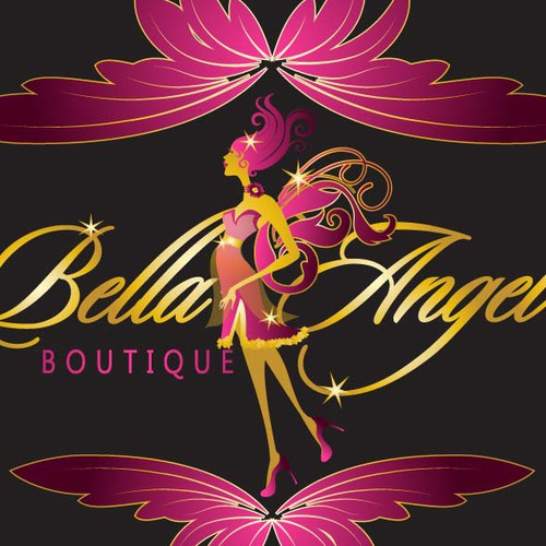 logo for Bella Angel boutique