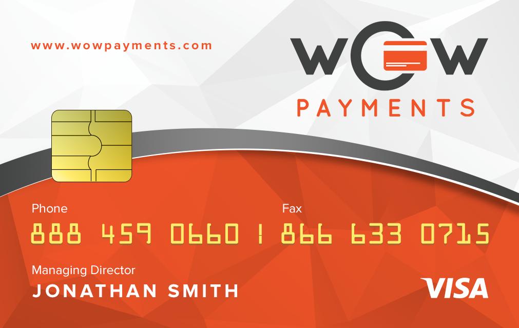 Credit Card Look alike Business Card