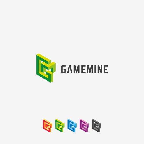 Logo for gaming company