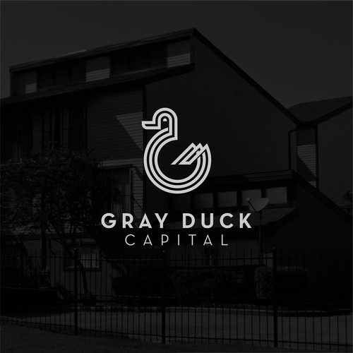 Logo for a real estate company Gray Duck