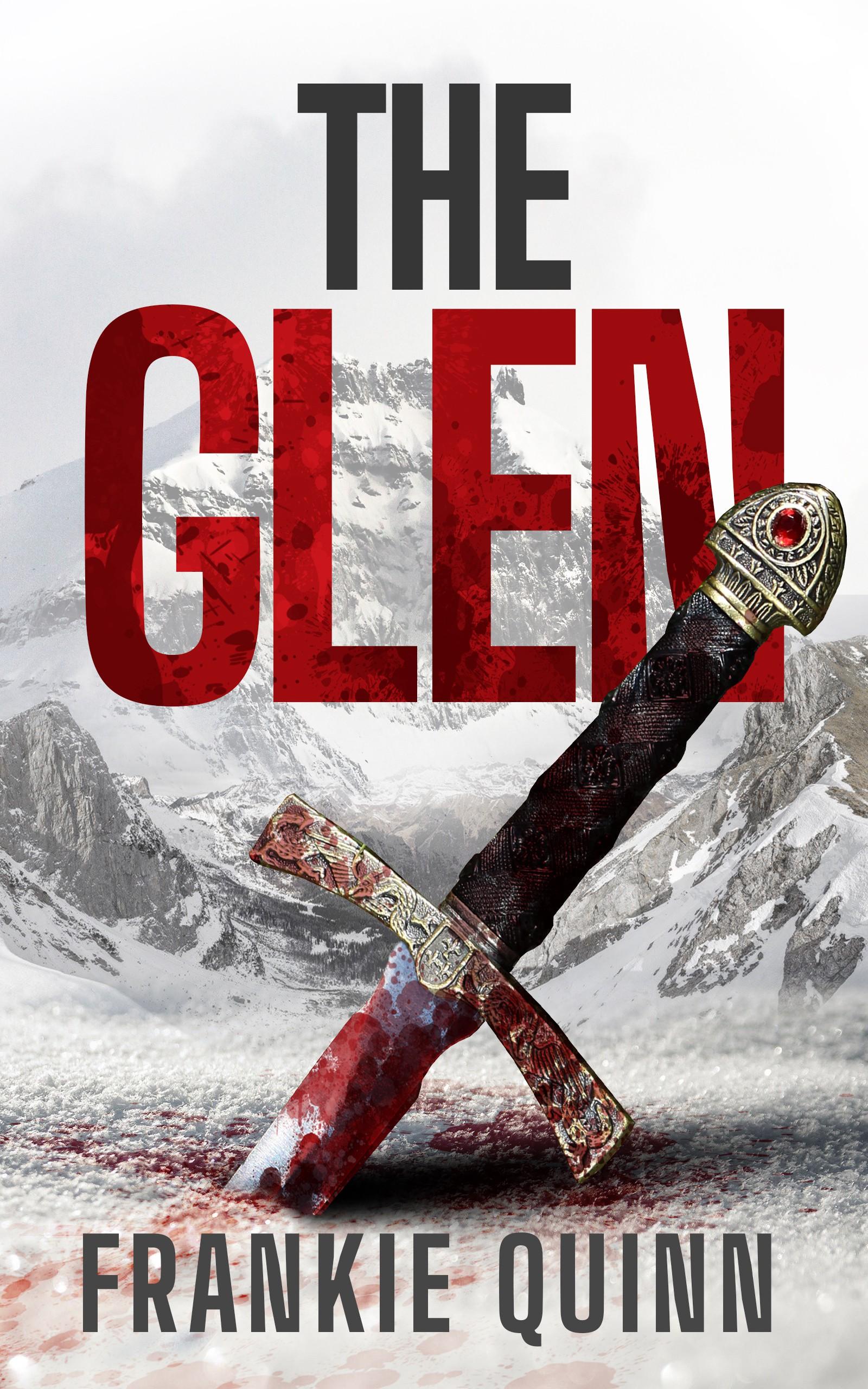 Atmospheric design for Scottish historical fiction e-book cover