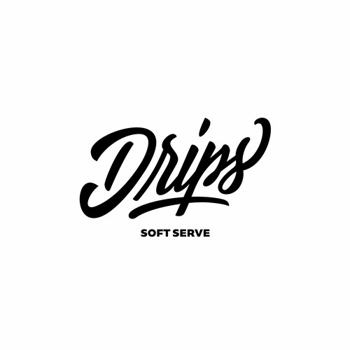 Soft Serve Ice Cream Shop Needs Logo That Incorporates Dripping Graffitti Art