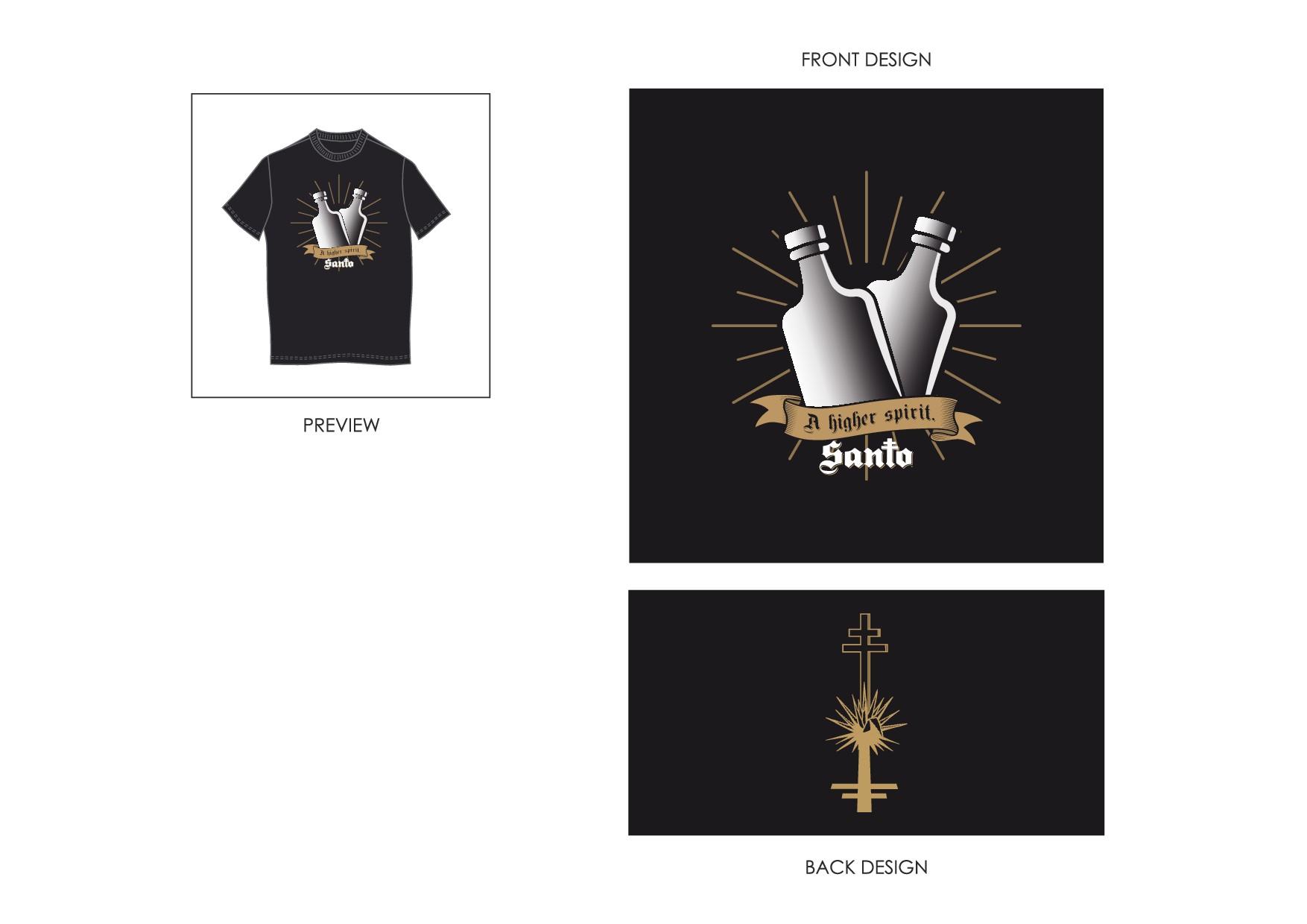 Santo Tequila (Guy Fieri + Sammy Hagar) t-shirt contest