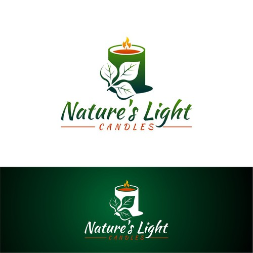 Nature's Light Candles