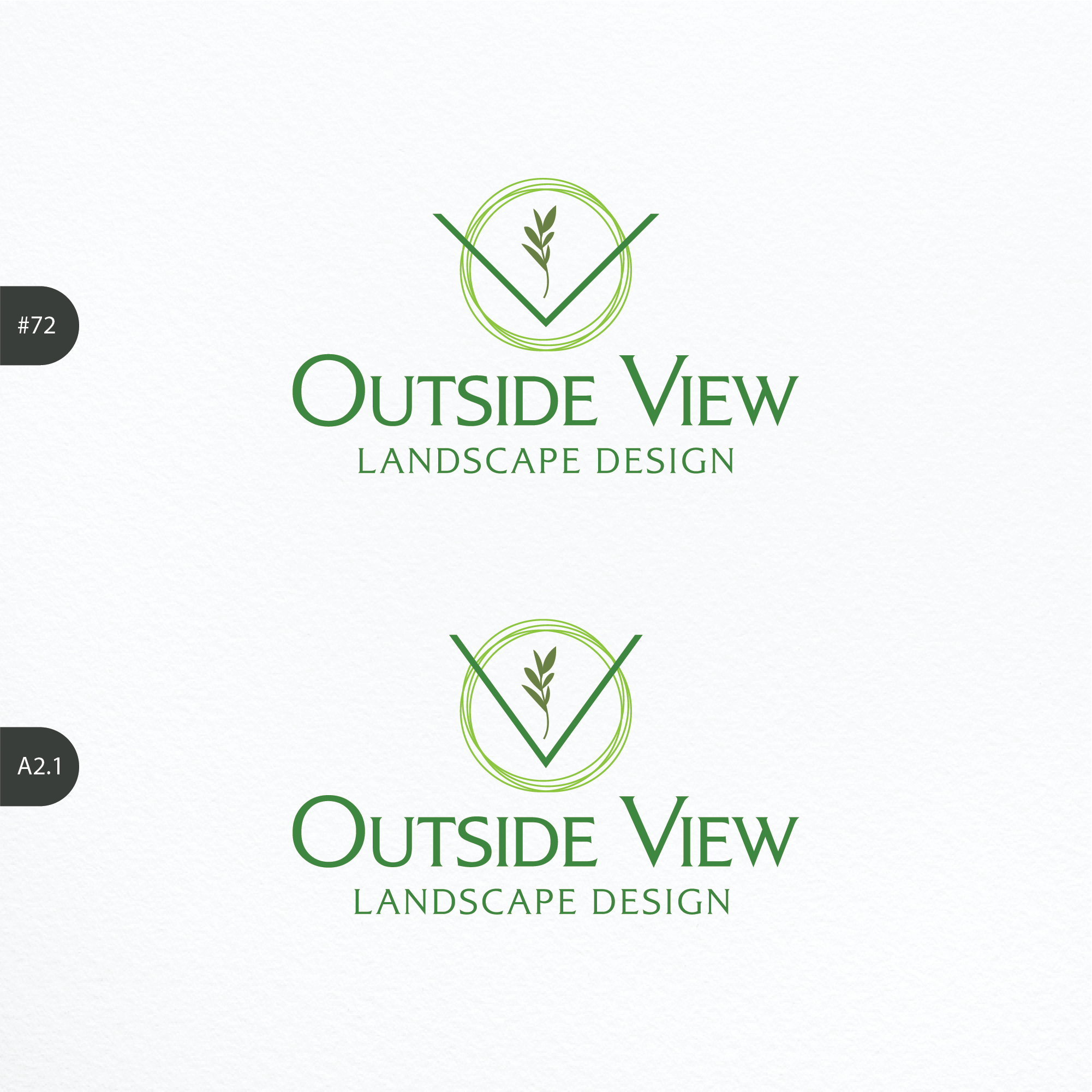 Stylish and cool logo for use on all media, for new landscape design business in Sydney Australia