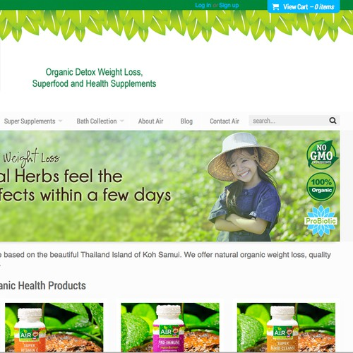 THAI HERB COMPANY NEEDS NEW BANNERS
