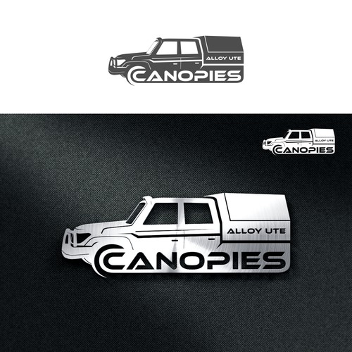 canopies alloy ute