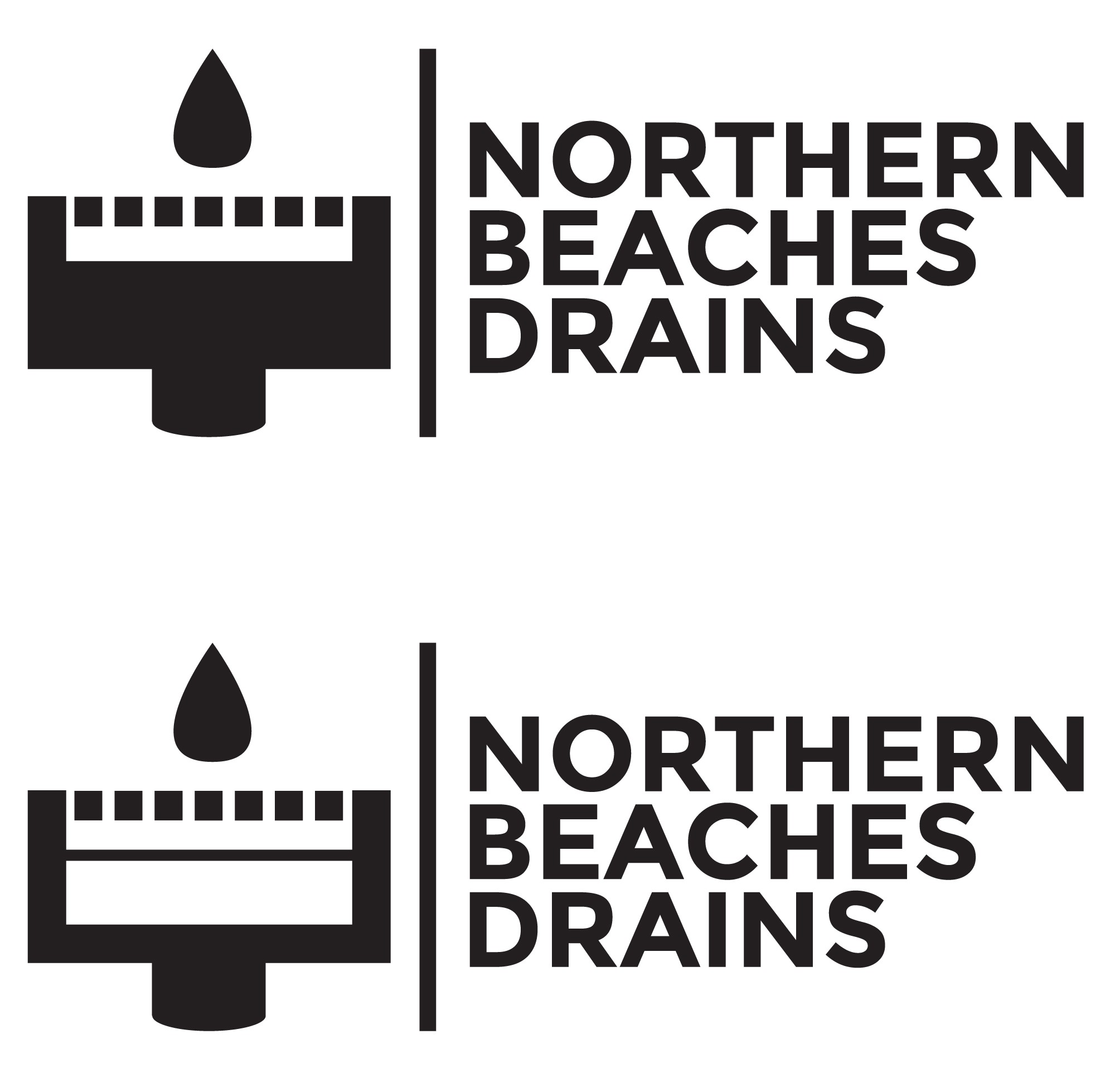 Northern Beaches Drains needs a fresh & outgoing Logo to get us noticed and in business!
