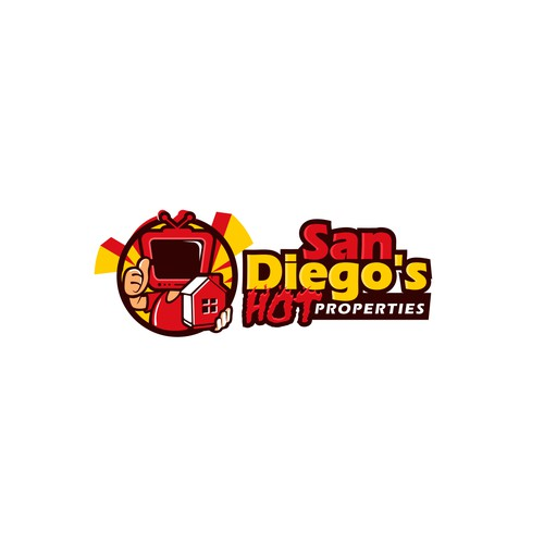 Logo Concept for San Diego's Hot Properties