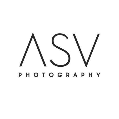 simple logo for photography