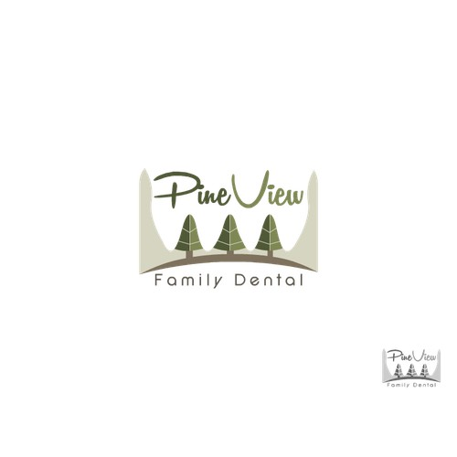 Logo for Pine View Family Dental