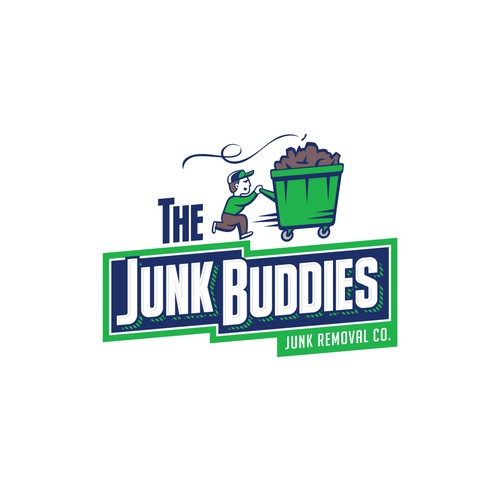 Logo design for a junk removal company