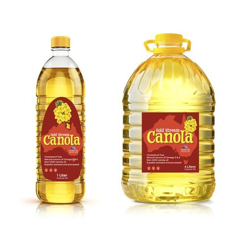Packaging for Australian Canola oil