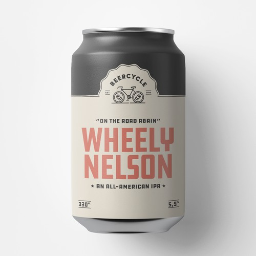 Beercycle - can design