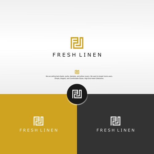 Logo concept for Fresh Linen