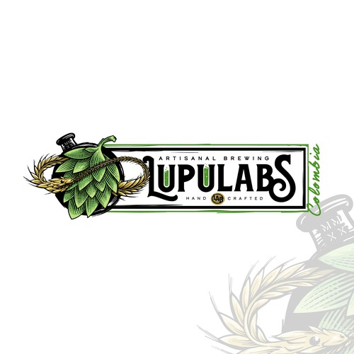 LUPULABS or Lupulabs Artisanal Brewing L.A.B.