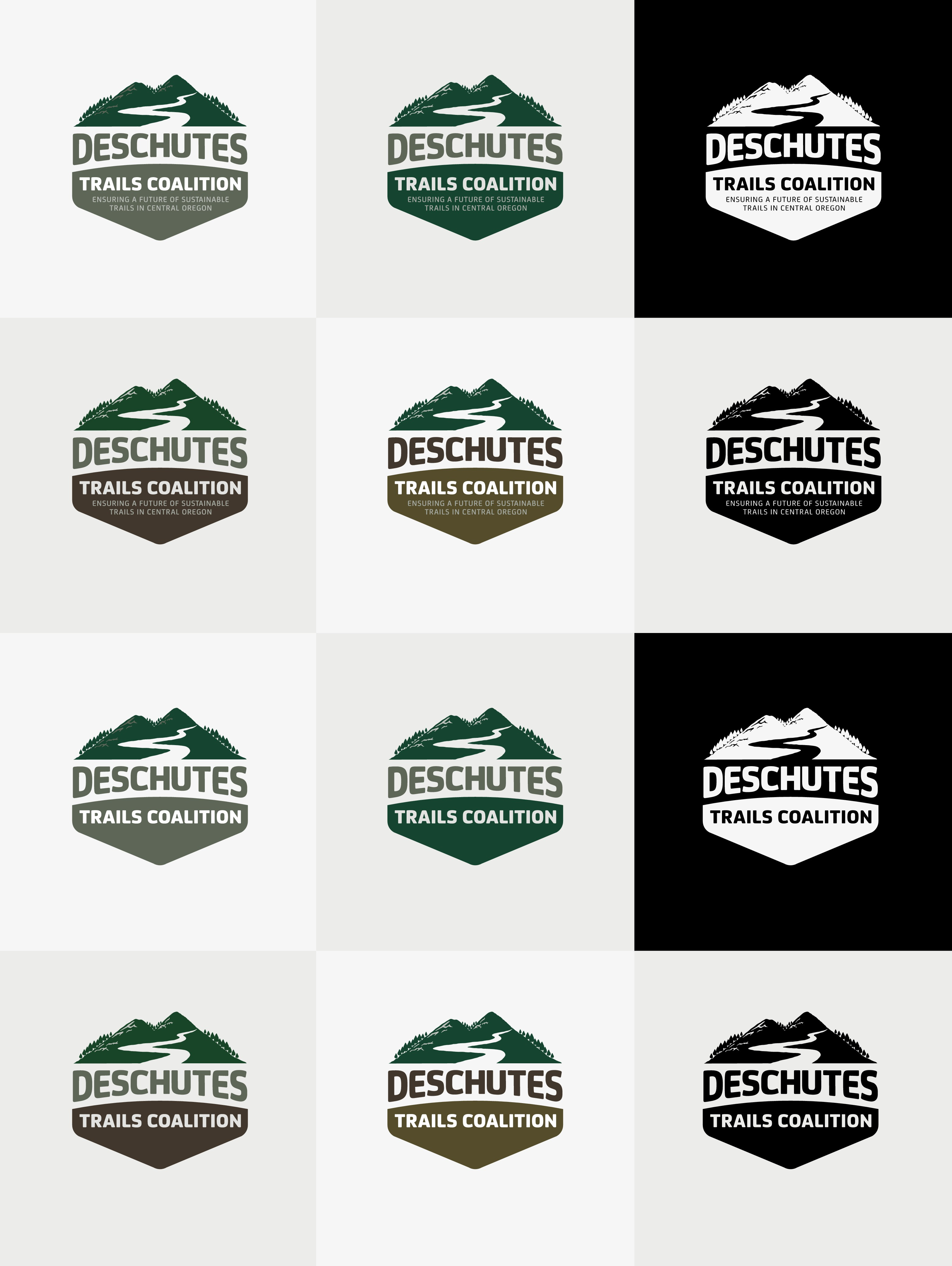 Design a logo for environmental non-profit focused on ensuring sustainable trails in Central Oregon