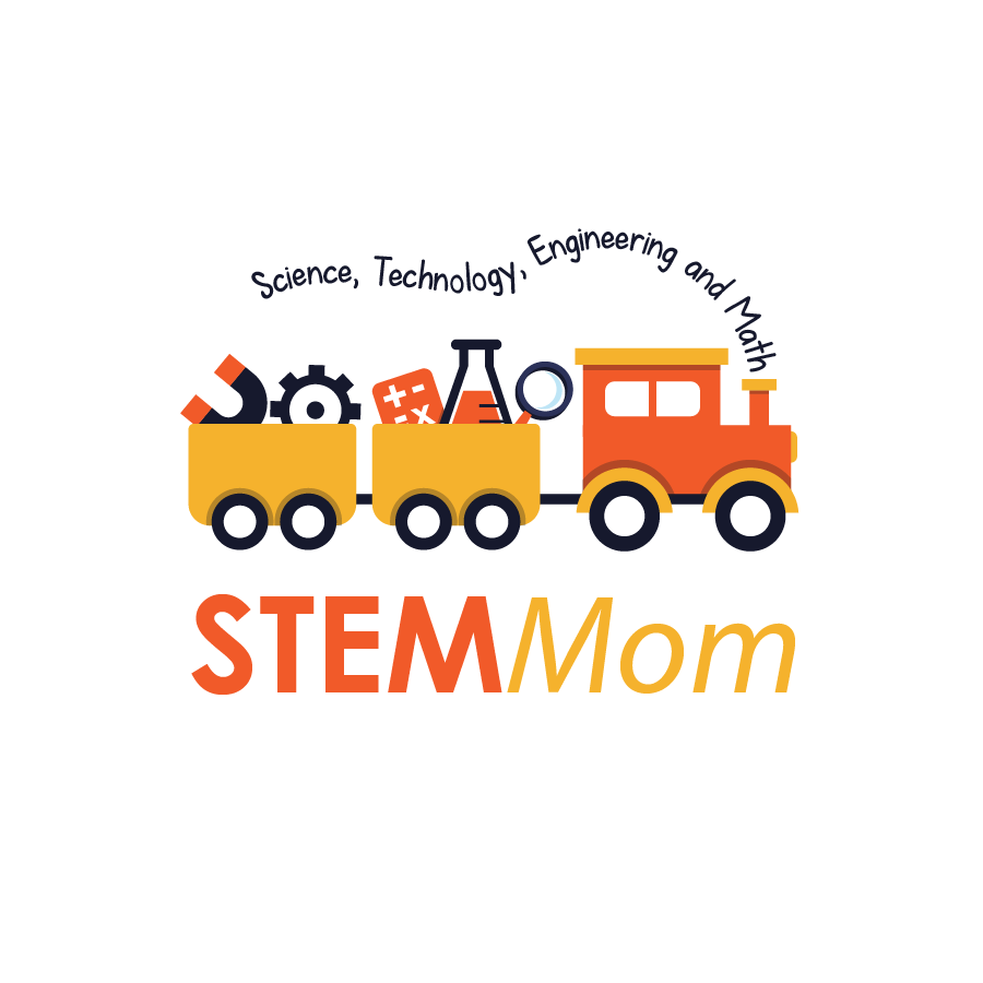 Create a logo for STEM Mom. Help parents teach their kids science, techology, math through play!