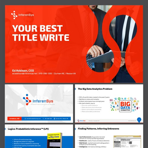 InferenSys PowerPoint Template
