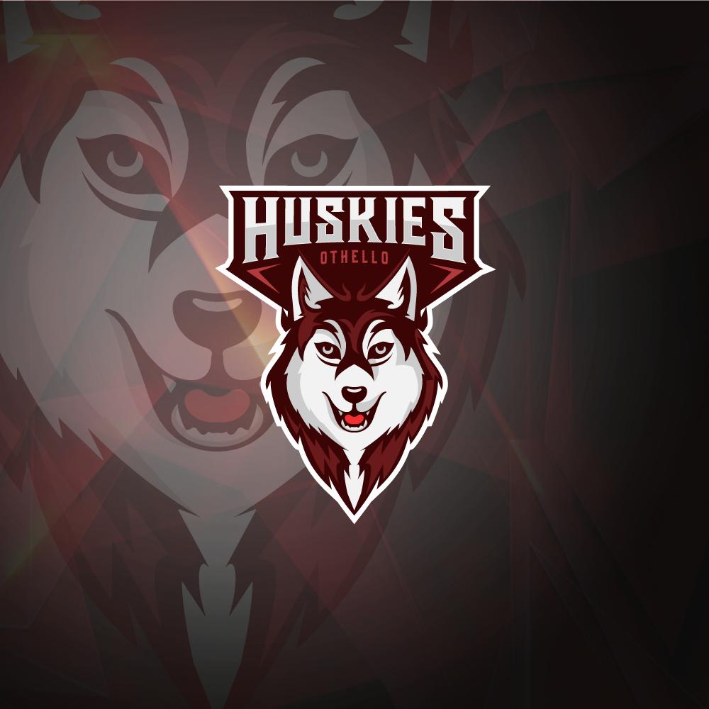 Othello High School Huskies Logo