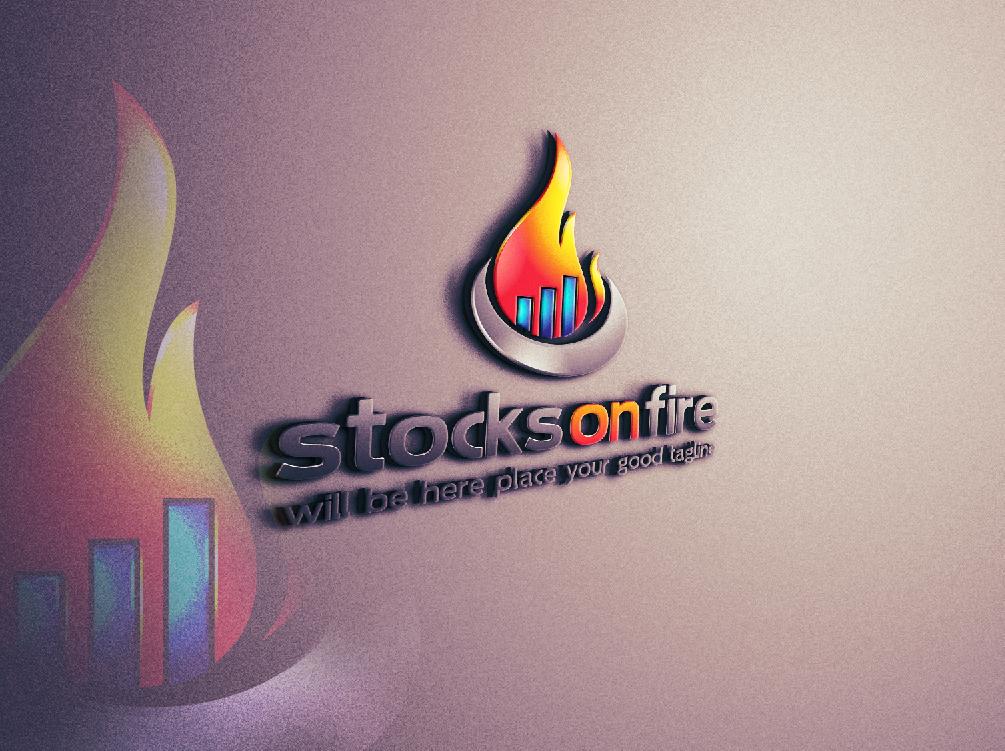 Create a logo for StocksOnFire.com