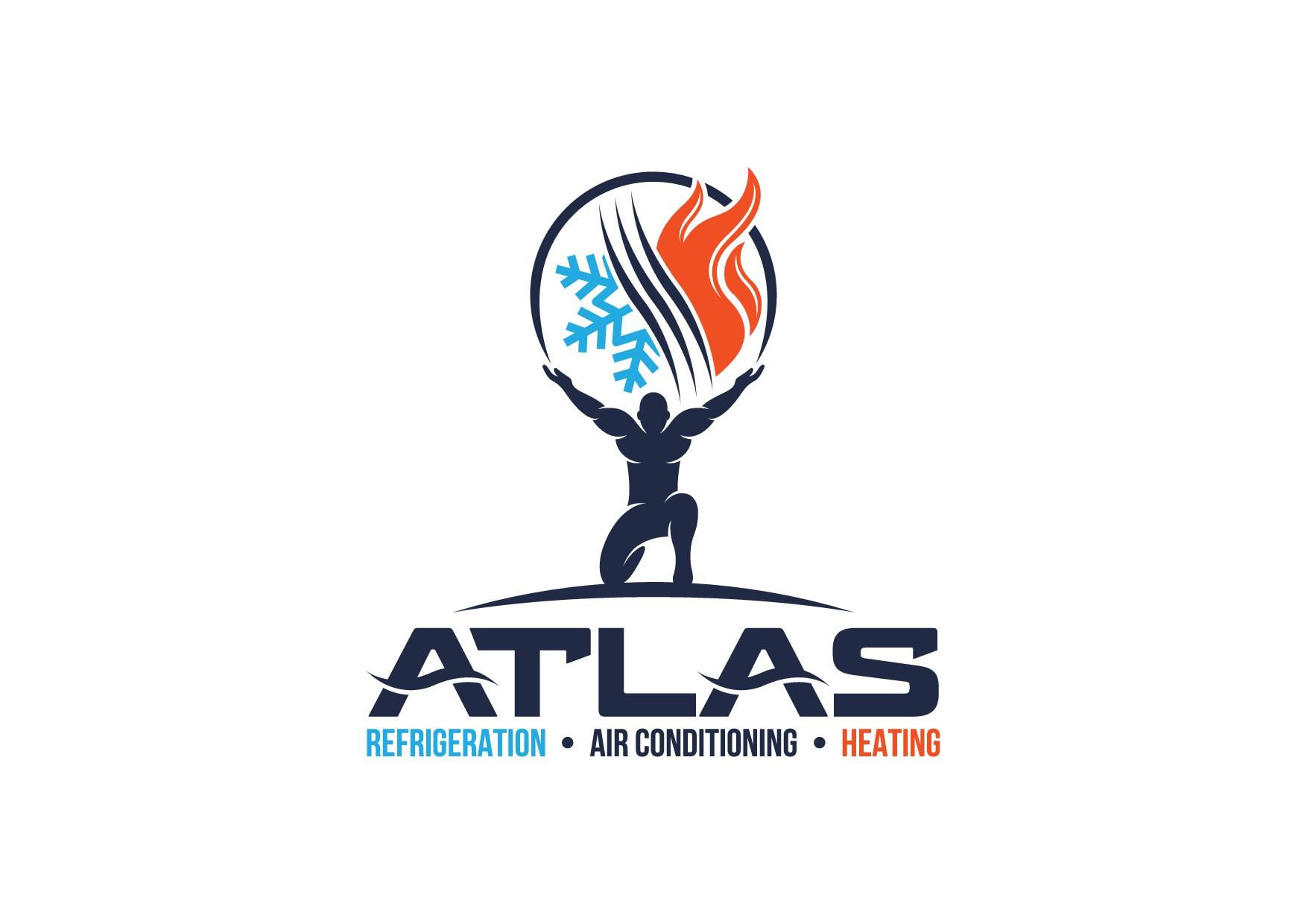 create a eye grabbing image of the titan Atlas