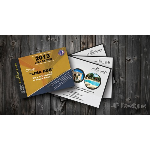 Create the next postcard or flyer for Easy Orlando Vacation Home