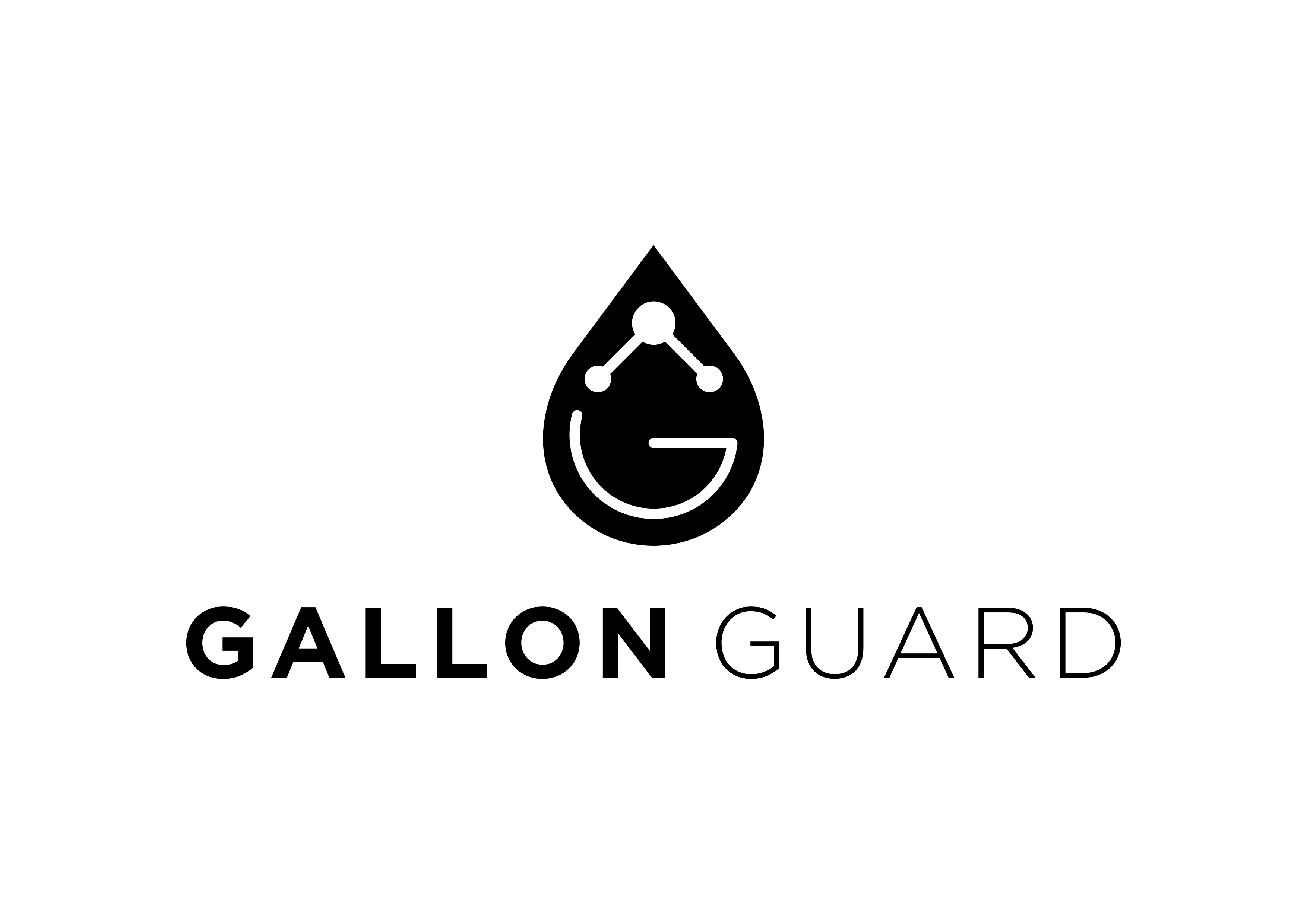 Simple Scalable Logo Design for an Insulating Water Jug Cover