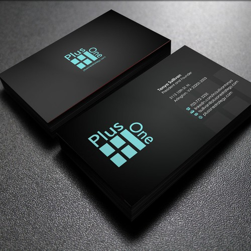 GUARANTEED - New Business Card and Letterhead for Plus One