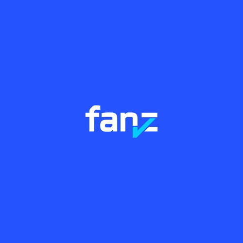 FANZ Design a trustworthy wordmark logo for a tech startup