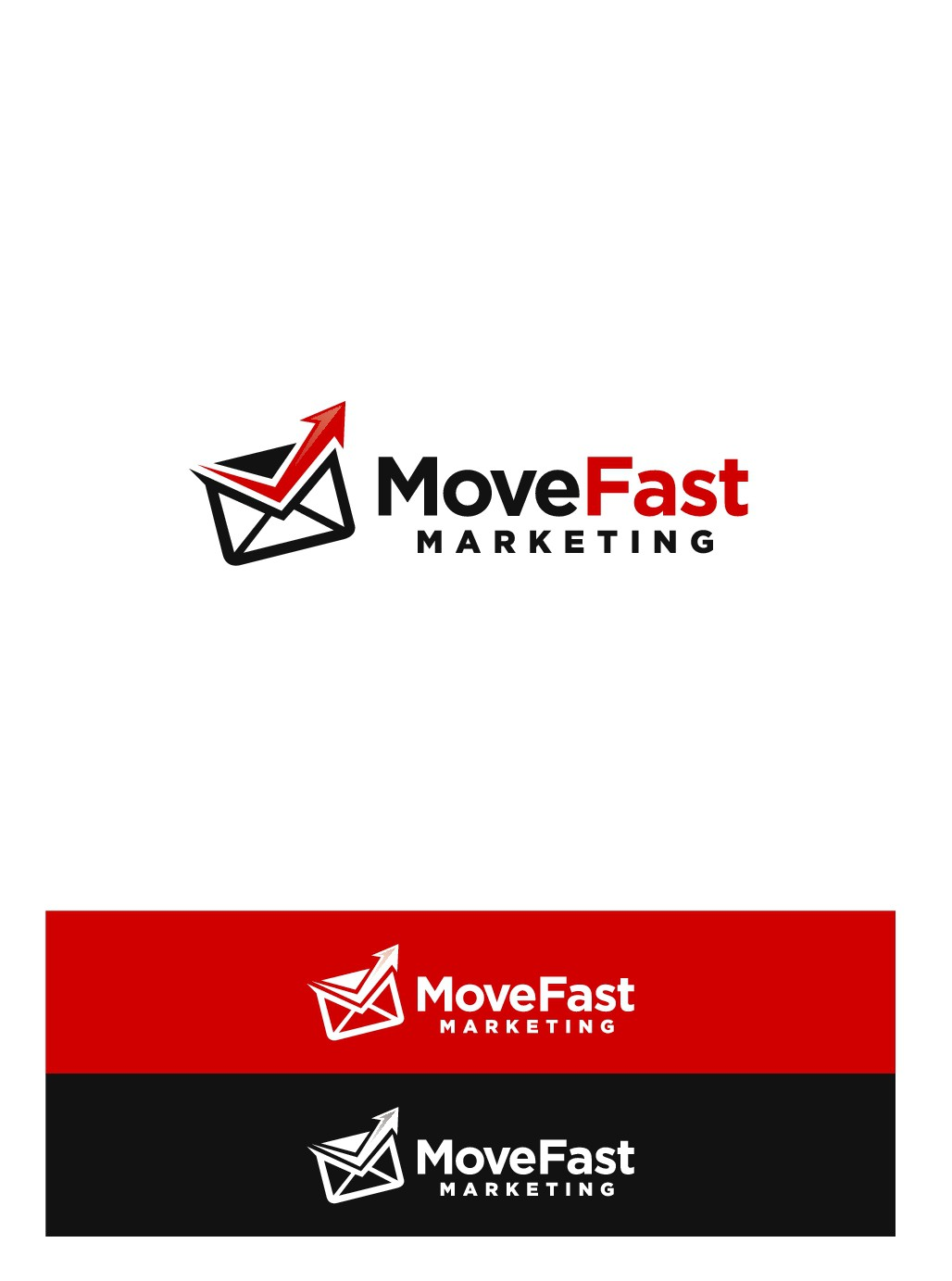 Design a logo for MoveFast Marketing