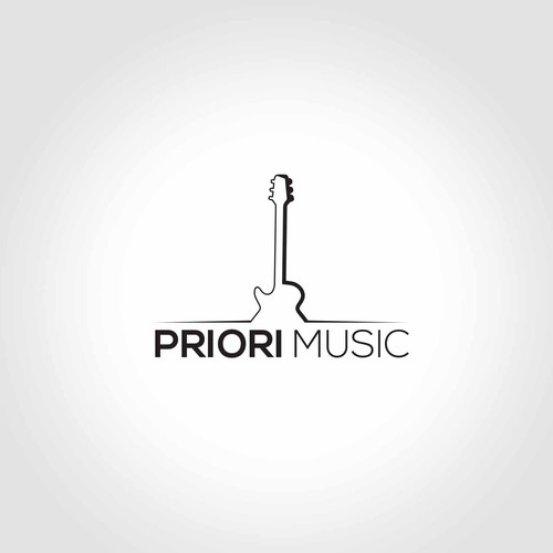Logo for musical instrument store