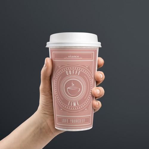 Mockup concept SPA's coffe cup