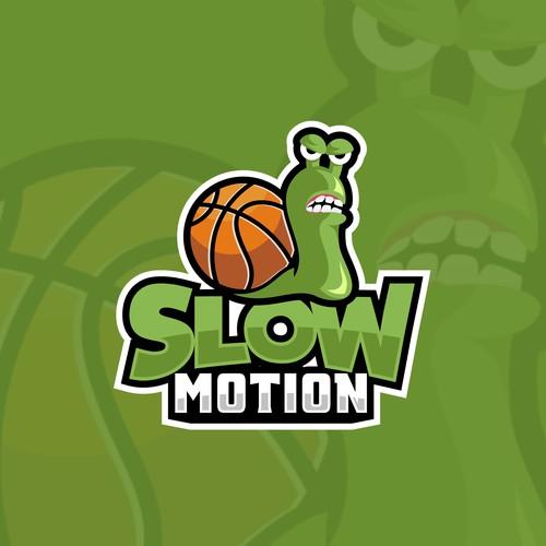 Aggressive Basketball team logo design