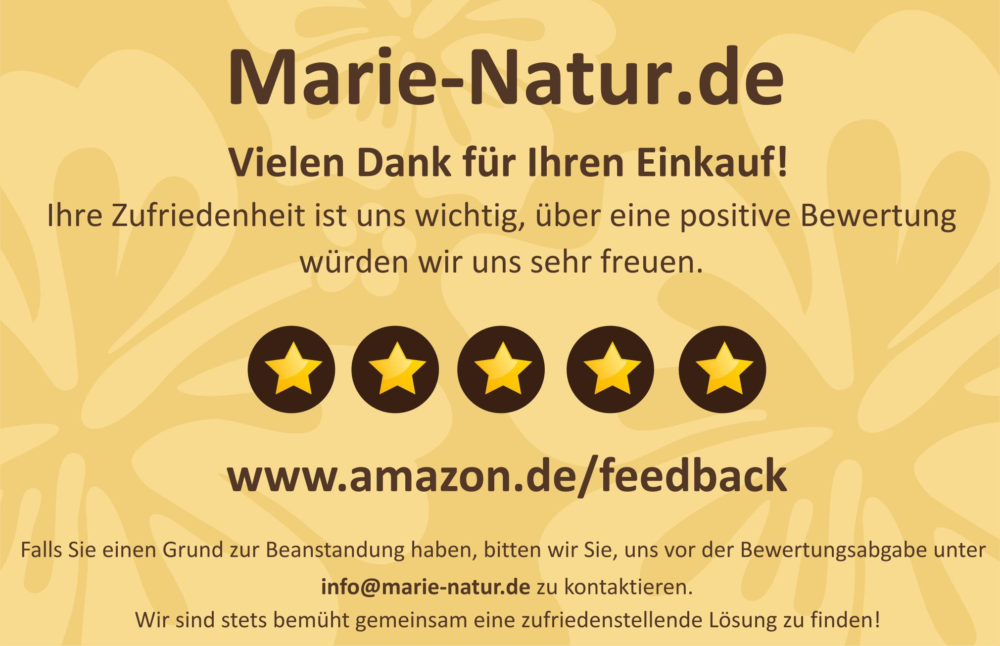 Business card for Amazon Feedback