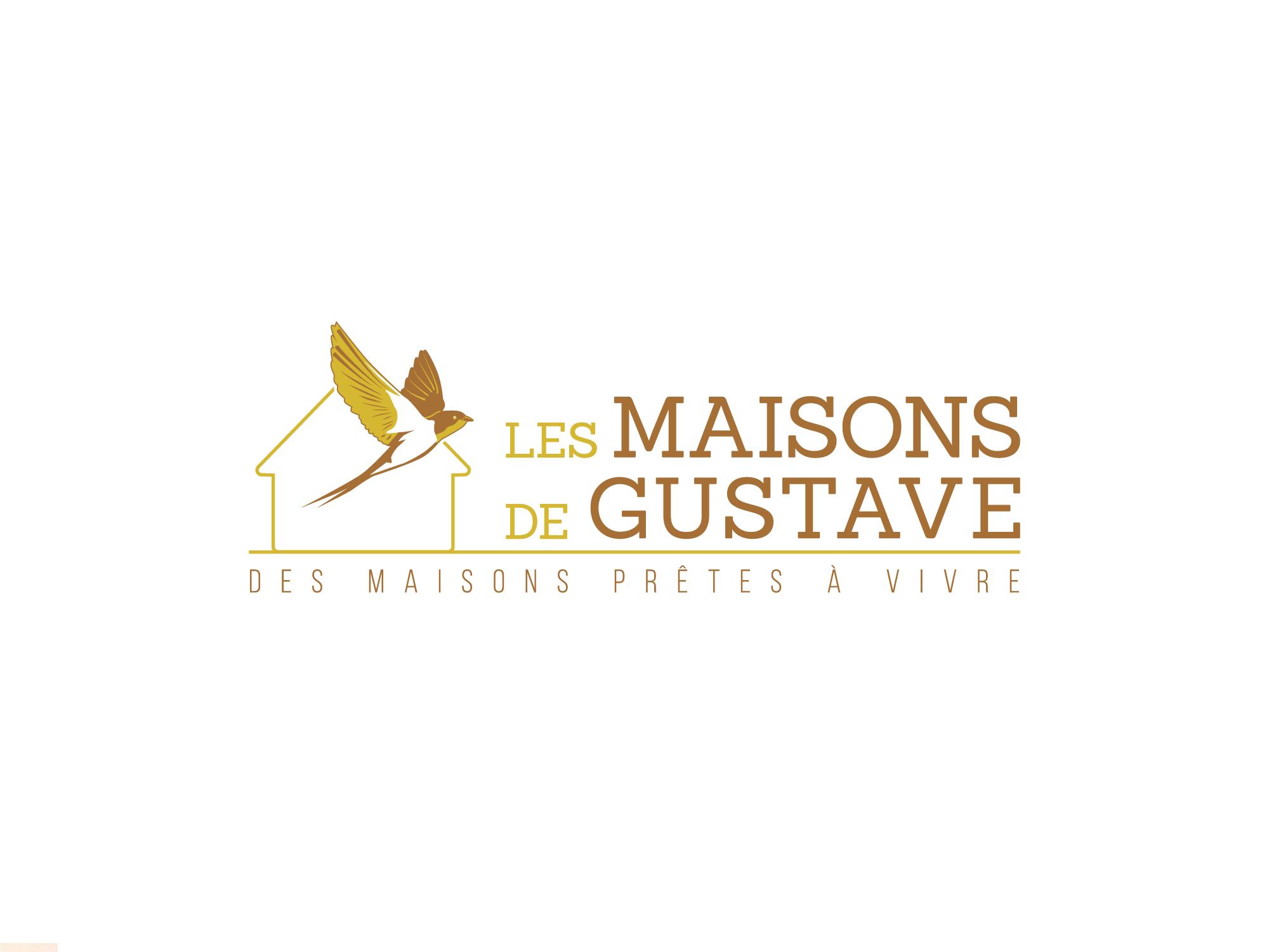 Créer un logo symbolique et marquant pour Les maisons de Gustave