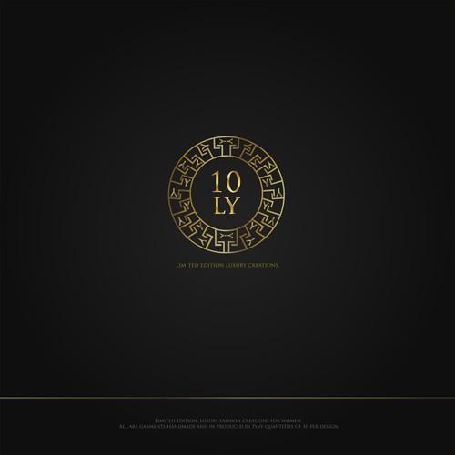 Luxury creations fashion brand logo