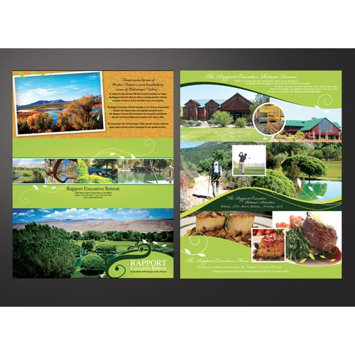 brochure executive retreat
