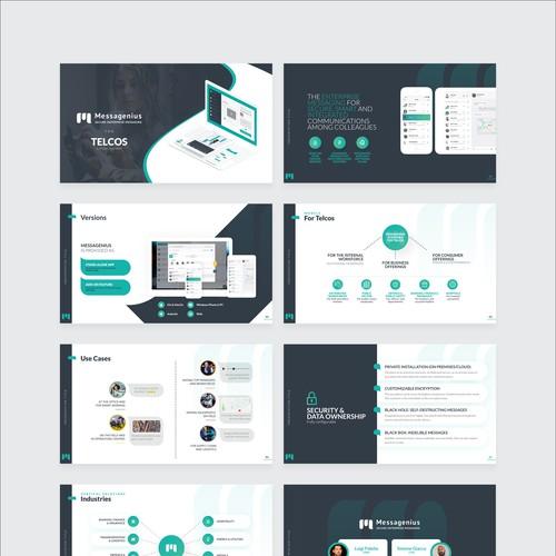 Presentation template