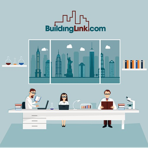 Infographic for Buildinglink