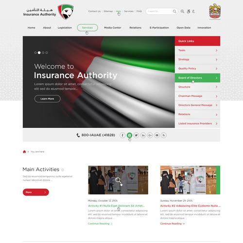 IA Website