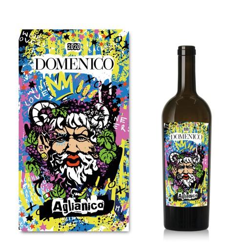 Fun wine label