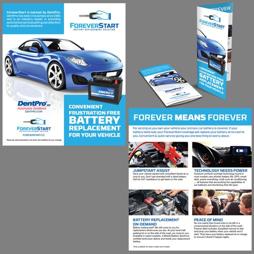 brochure design for ForeverStart