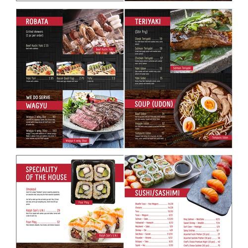 Sushi Fix menu